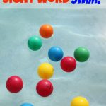 Sight Word Swim Game for Kids