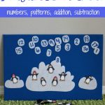 Penguin Counting Math Game with Free Printable