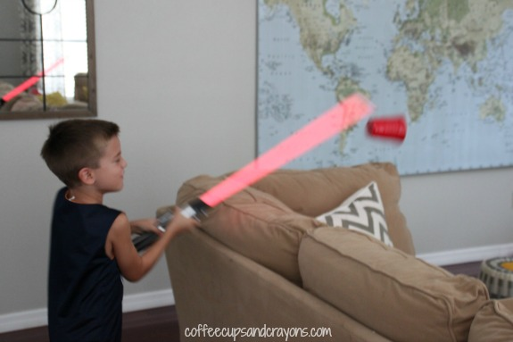 Light Saber Sight Word Game for Kids