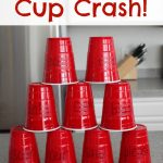 Gross Motor Sight Word Game: Cup Crash!