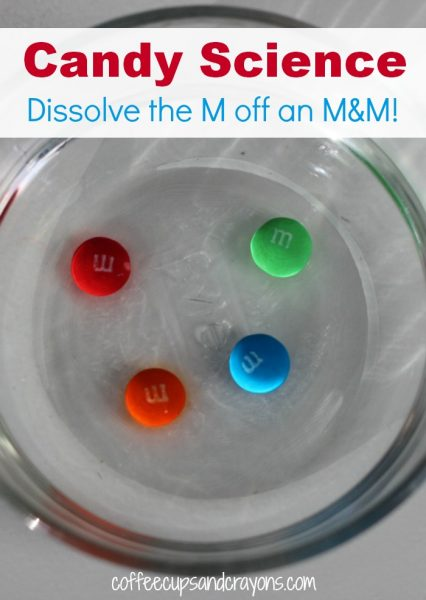 Candy Science for Kids: M&M Experiment