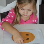 Cookie Math Play Dough Mat Busy Bag