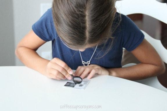 Mystery Book Activity--Investigate Fingerprints