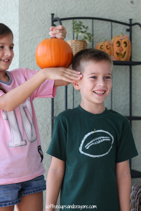 Pumpkin Measurement and Science Activity for Kids