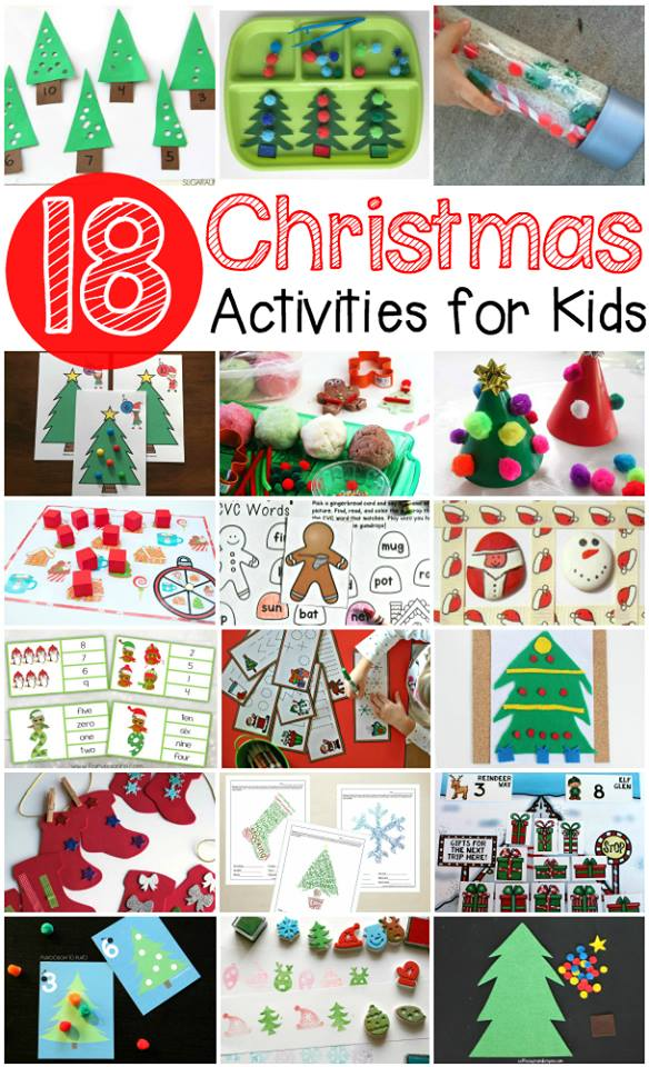 18 Christmas busy bags and activities that are sure to keep boredom away!