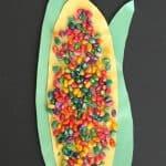 Easy Thanksgiving Corn Craft for Preschool Kids