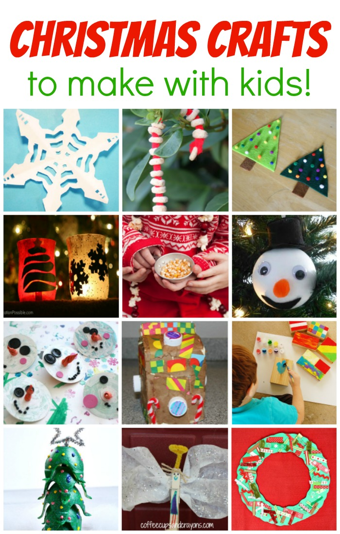 Christmas crafts to make with kids coffee cups and crayons for Crafts to make with toddlers