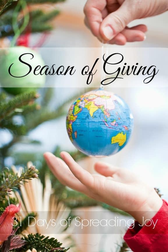 Season of Giving Blog Hop