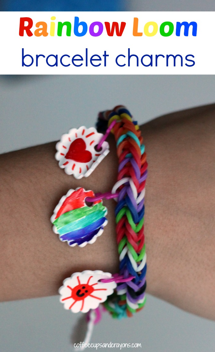 How to Make Band Bracelet Charms for Kids!