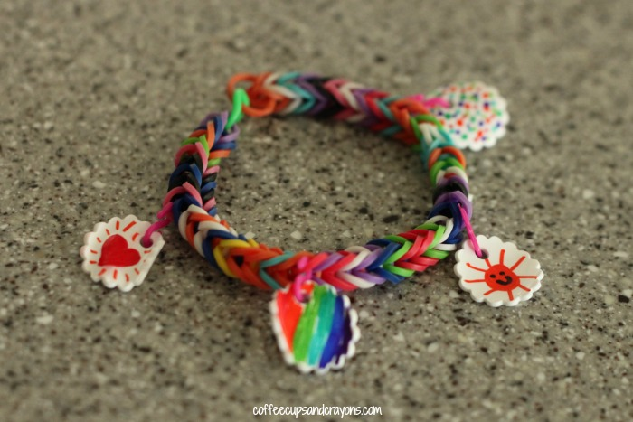 How to Make Shrinky Dink Bracelet Charms