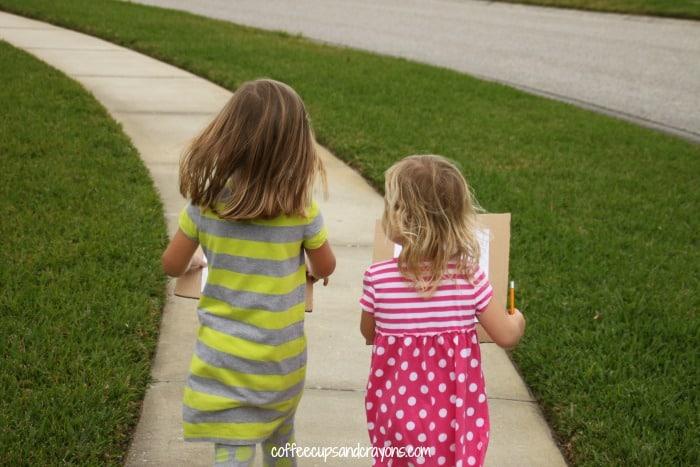 Preschool Color Scavenger Hunt!