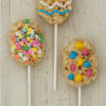 Easy Easter Egg Rice Krispies Pops