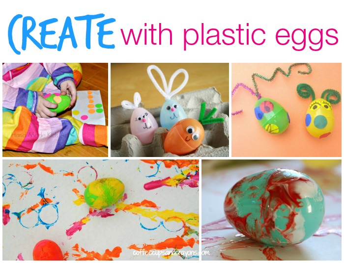 Fun Ways to CREATE with Plastic Eggs!