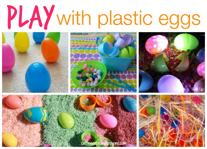 Fun Ways to PLAY With Plastic Eggs!