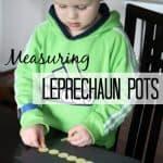 Measuring Leprechaun Pots Math Activity