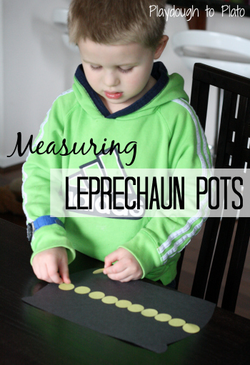 Measuring Leprechaun Pots Math Activity!