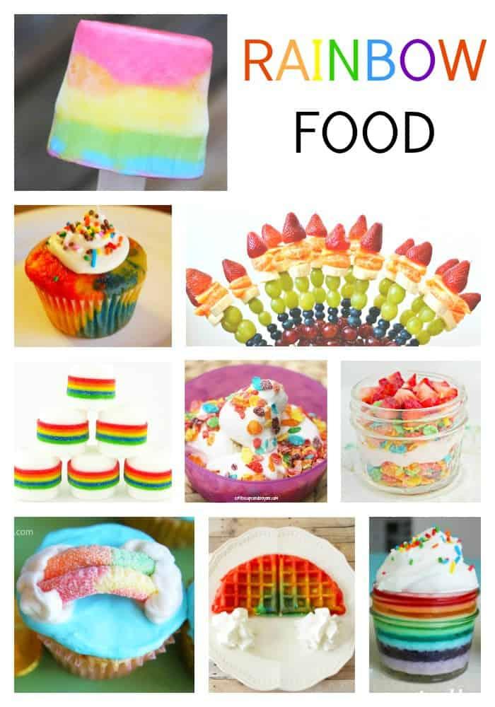 Fun Rainbow Food For Kids Coffee Cups And Crayons