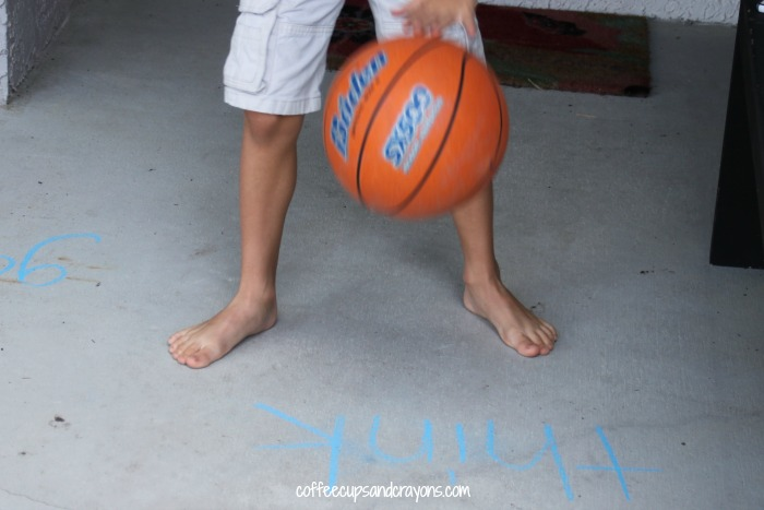Sight Word Basketball Game!