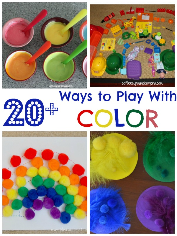 color projects for preschoolers 20 color activities for coffee cups and crayons 288