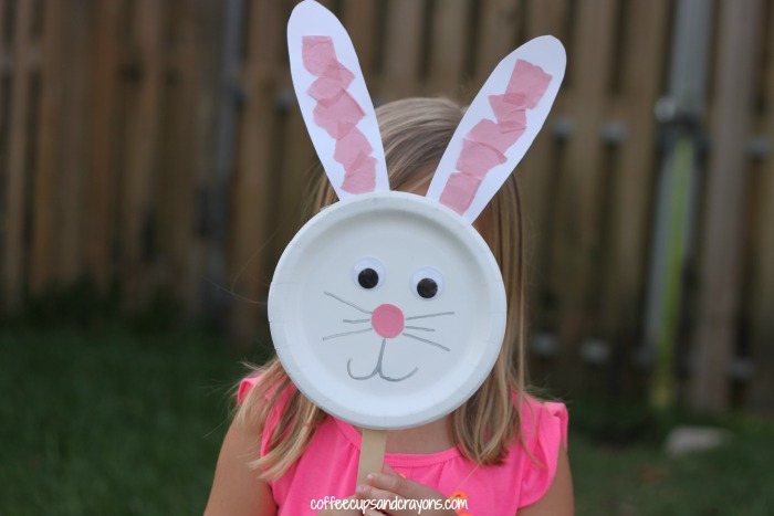 Cute Bunny Craft for Preschool Kids!