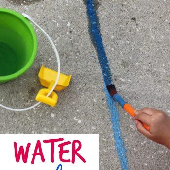 Water Painting Handwriting Practice