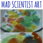 Preschool Science and Art Activity