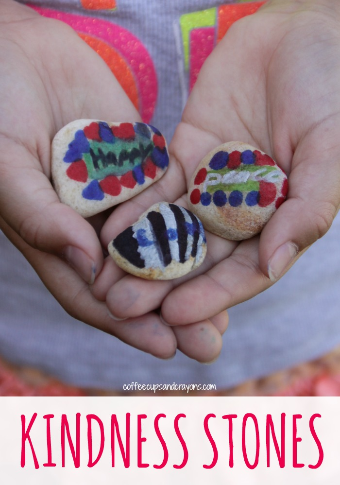 Kindness Stones! A crafty act of kindness for kids!