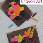Sun Melted Crayon Art {Inspired by 101 Kids Activities}