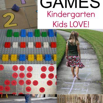 Kindergarten Active Math Games