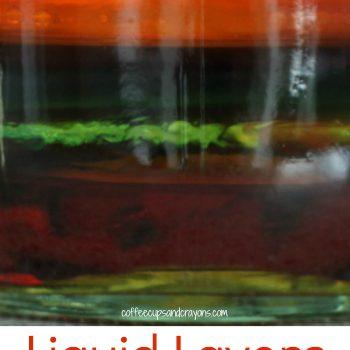 Liquid Layers Density Science Experiment