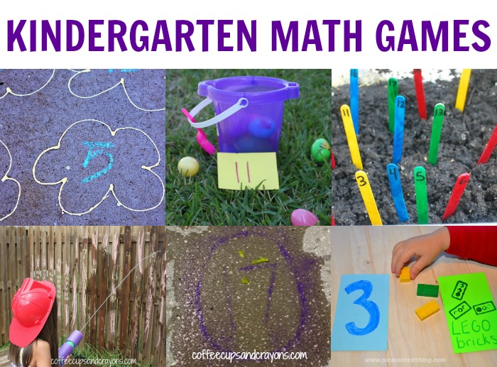 math worksheet : kindergarten active math games  coffee cups and crayons : Easy Math Games For Kindergarten