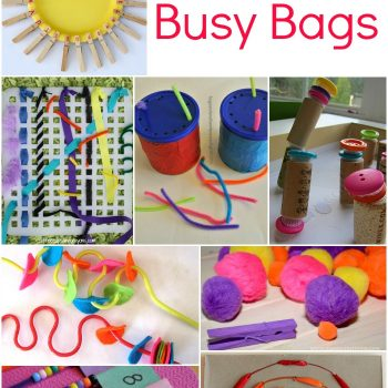 Fine Motor Busy Bags for Kids