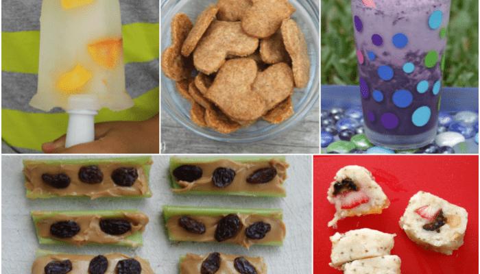 Healthy Afterschool Snacks for Kids