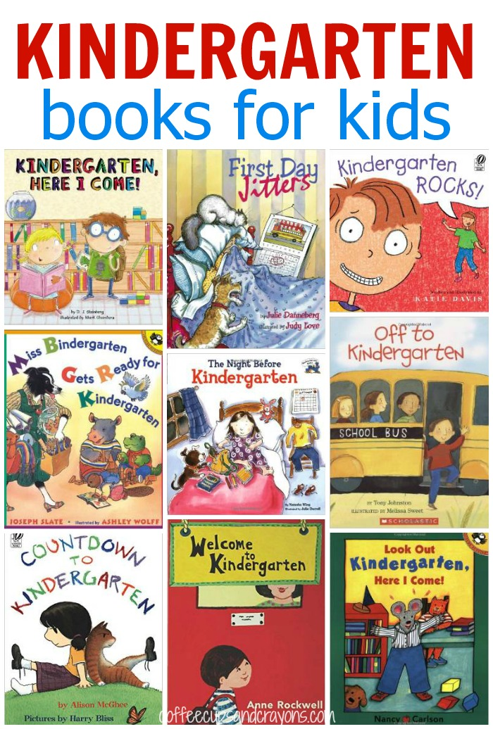 How To Make A Book Kindergarten : Books about starting kindergarten coffee cups and crayons