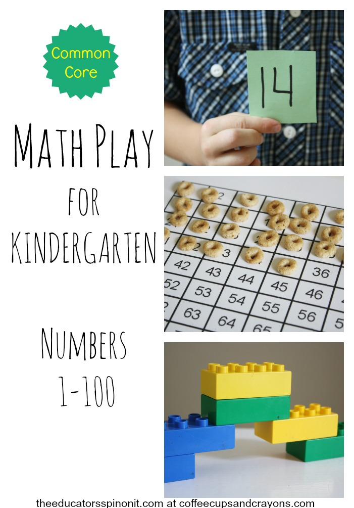 Kindergarten Math Ideas to Help Make Common Core Standards FUN and Hands-On Learning