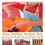 Soup Kitchen Pretend Play