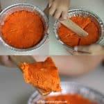 Edible Pumpkin Pie Play Dough