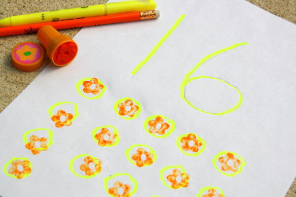 Write and Stamp Numbers