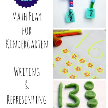 Kindergarten Math {Writing and Representing Numbers 0-20}