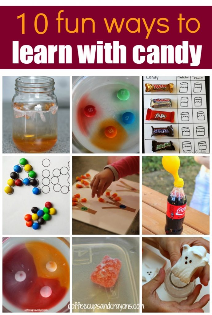 10 FUN Ways to Learn with Candy Activities!