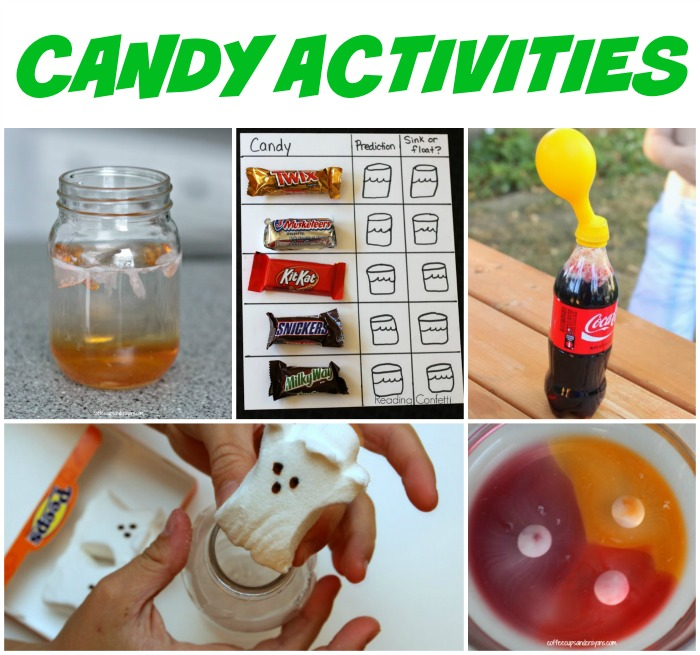 FUN Candy Activities for Kids that are FULL of Learning!