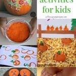 20+ Pumpkin Activities for Kids