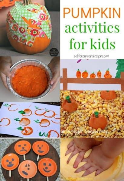 Pumpkin Activities for Kids!!!