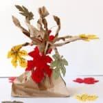 Fall Paper Bag Tree