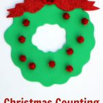 Christmas Counting Busy Bag for Preschool
