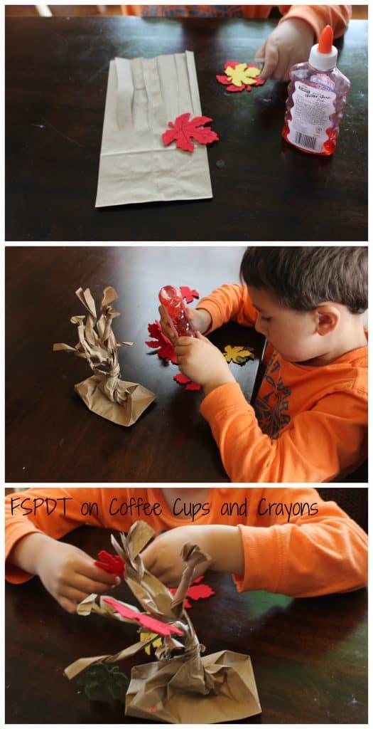 Simple Fall Tree Kids Craft