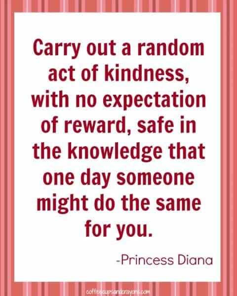 Random Acts of Kindness Challenge #1!