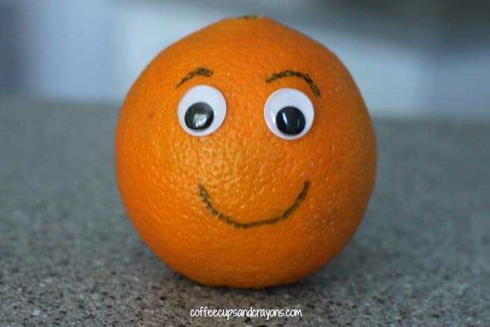 Orange Craft For Preschool