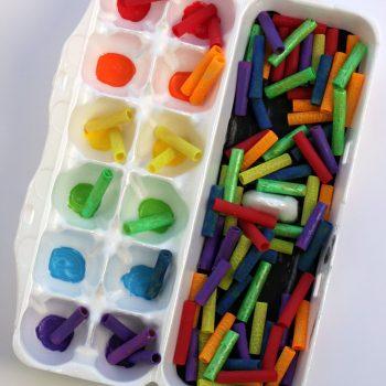 Rainbow Color Sorting Busy Bag