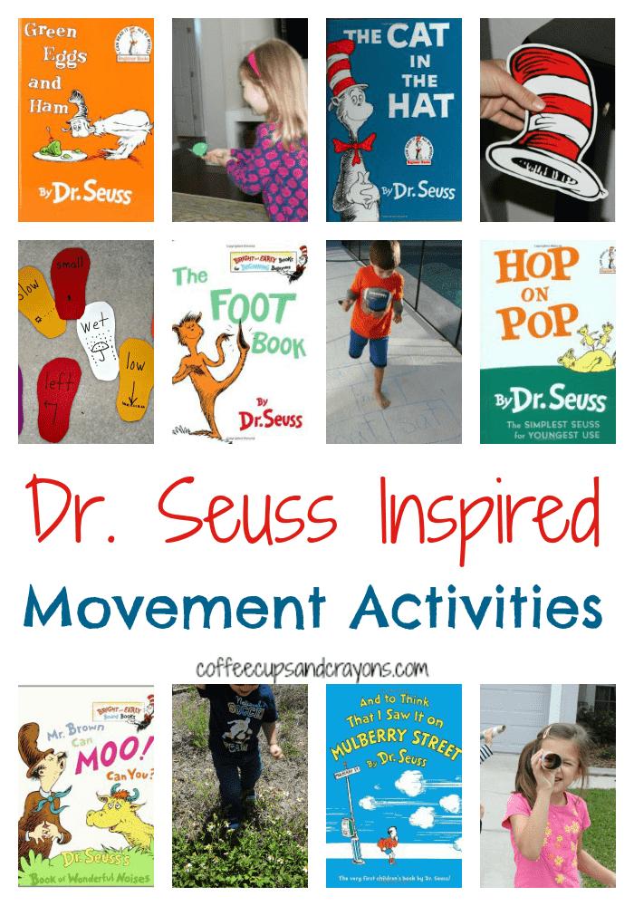 Seuss Inspired Movement Activities